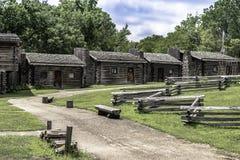 Κρατικό πάρκο Boonesborough οχυρών στοκ εικόνες