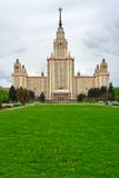 κρατικό πανεπιστήμιο της Μόσχας Στοκ εικόνα με δικαίωμα ελεύθερης χρήσης