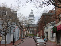 Κρατικό capitol Annapolis Στοκ Εικόνες