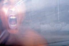 κραυγή αποκριών Στοκ φωτογραφίες με δικαίωμα ελεύθερης χρήσης