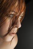Κραυγή κοριτσιών ομορφιάς Στοκ φωτογραφία με δικαίωμα ελεύθερης χρήσης