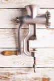 κρεατομηχανή παλαιά Στοκ φωτογραφίες με δικαίωμα ελεύθερης χρήσης
