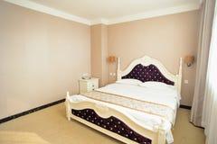 Κρεβάτι κρεβατοκάμαρων Στοκ Εικόνες