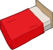 Κρεβάτι με Headboard απεικόνιση αποθεμάτων