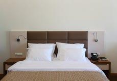 Κρεβάτι Στοκ φωτογραφία με δικαίωμα ελεύθερης χρήσης