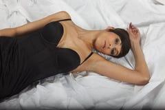 Κρεβάτι Στοκ Εικόνα