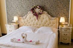 Κρεβάτι Στοκ Φωτογραφία