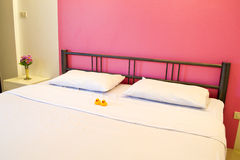 Κρεβατοκάμαρα ξενοδοχείων Στοκ εικόνα με δικαίωμα ελεύθερης χρήσης
