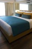 Κρεβατοκάμαρα ξενοδοχείων Στοκ Φωτογραφία