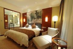 Κρεβατοκάμαρα ξενοδοχείων Στοκ φωτογραφίες με δικαίωμα ελεύθερης χρήσης