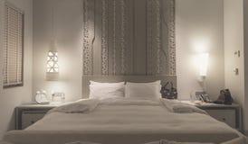 κρεβατοκάμαρα σύγχρονη Στοκ Εικόνα