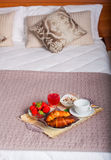 Κρεβατοκάμαρα του ξενοδοχείου Ares Στοκ Εικόνα