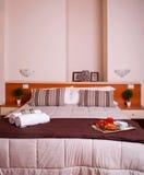 Κρεβατοκάμαρα του ξενοδοχείου Ares Στοκ φωτογραφίες με δικαίωμα ελεύθερης χρήσης