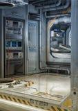 Κρεβατοκάμαρα του Sci Fi Στοκ Φωτογραφίες