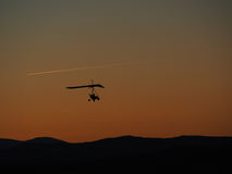 Κρεμάστε την πτήση ανεμοπλάνων Στοκ φωτογραφία με δικαίωμα ελεύθερης χρήσης