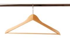 κρεμάστρα ξύλινη Στοκ εικόνα με δικαίωμα ελεύθερης χρήσης