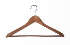 κρεμάστρα παλτών ξύλινη Στοκ Εικόνα