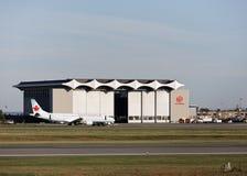 Κρεμάστρα του Air Canada Στοκ Εικόνες