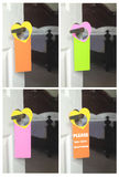 κρεμάστρες πορτών Στοκ φωτογραφίες με δικαίωμα ελεύθερης χρήσης