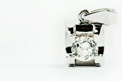 κρεμαστά κοσμήματα διαμα& Στοκ Φωτογραφία