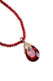 κρεμαστά κοσμήματα πολύτ&iota Στοκ Εικόνα