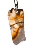 κρεμαστό κόσμημα αχατών στοκ εικόνα με δικαίωμα ελεύθερης χρήσης