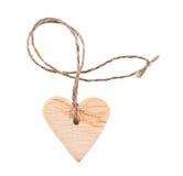 κρεμαστό κόσμημα καρδιών μορφής Στοκ Φωτογραφία