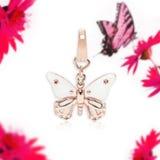 Κρεμαστό κόσμημα πεταλούδων, κόσμημα Στοκ φωτογραφία με δικαίωμα ελεύθερης χρήσης