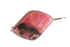 κρεμαστό κόσμημα rhodonite Στοκ Εικόνες