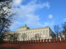 Κρεμλίνο Κατοικία του Προέδρου της Ρωσικής Ομοσπονδίας Μόσχα Ρωσία Παλάτι Συγκλήτου του Κρεμλίνου στη Μόσχα, Ρωσία στοκ εικόνα με δικαίωμα ελεύθερης χρήσης