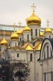 Κρεμλίνο Μόσχα Annunciation εκκλησία Περιοχή παγκόσμιων κληρονομιών της ΟΥΝΕΣΚΟ Στοκ εικόνα με δικαίωμα ελεύθερης χρήσης