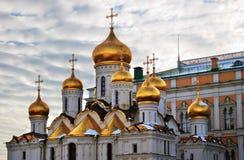 Κρεμλίνο Μόσχα Annunciation εκκλησία Φωτογραφία χρώματος Στοκ εικόνες με δικαίωμα ελεύθερης χρήσης