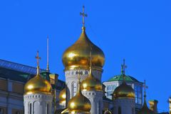 Κρεμλίνο Μόσχα Annunciation εκκλησία Φωτογραφία χρώματος Στοκ Εικόνες