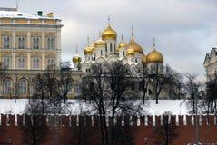 Κρεμλίνο Μόσχα Annunciation εκκλησία Φωτογραφία χρώματος Στοκ εικόνα με δικαίωμα ελεύθερης χρήσης