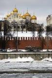 Κρεμλίνο Μόσχα Annunciation εκκλησία Φωτογραφία χρώματος Στοκ φωτογραφία με δικαίωμα ελεύθερης χρήσης