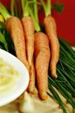 κρεμμύδια καρότων Στοκ εικόνα με δικαίωμα ελεύθερης χρήσης