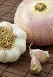 κρεμμύδι σκόρδου Στοκ φωτογραφία με δικαίωμα ελεύθερης χρήσης