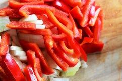 Κρεμμύδια πιπεριών «ν» στοκ φωτογραφία με δικαίωμα ελεύθερης χρήσης