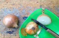 Κρεμμύδια Στοκ φωτογραφία με δικαίωμα ελεύθερης χρήσης