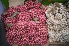 Κρεμμύδι & σκόρδο στοκ φωτογραφία με δικαίωμα ελεύθερης χρήσης