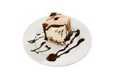 κρεμώδες λευκό πιάτων επ&io στοκ φωτογραφίες