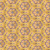 κρεμώδες πρότυπο λουλ&omicro ελεύθερη απεικόνιση δικαιώματος