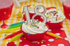 Κρεμώδες Cupcakes Στοκ φωτογραφία με δικαίωμα ελεύθερης χρήσης