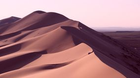 Κρεμώδης έρημος Στοκ φωτογραφία με δικαίωμα ελεύθερης χρήσης