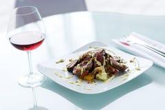 κρεμώδη λαχανικά λουρίδ&omega στοκ εικόνα με δικαίωμα ελεύθερης χρήσης