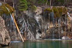 κρεμώντας λίμνη Στοκ Εικόνες