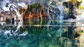 κρεμώντας λίμνη Στοκ Φωτογραφία