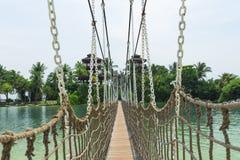 Κρεμώντας γέφυρα Στοκ Εικόνα