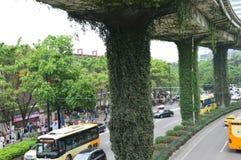 Κρεμώντας κήποι Guangzhou Στοκ φωτογραφίες με δικαίωμα ελεύθερης χρήσης