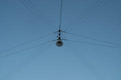 κρεμώντας οδός λαμπτήρων Στοκ Φωτογραφίες